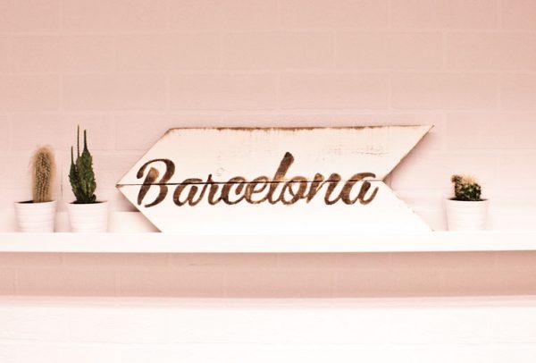 flecha madera barcelona
