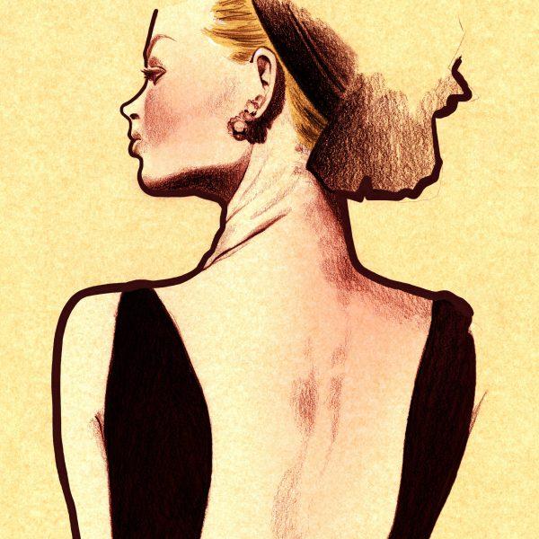 ilustración chica