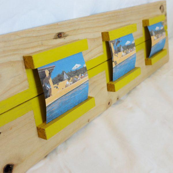 marco 3 fotos tipo polaroid