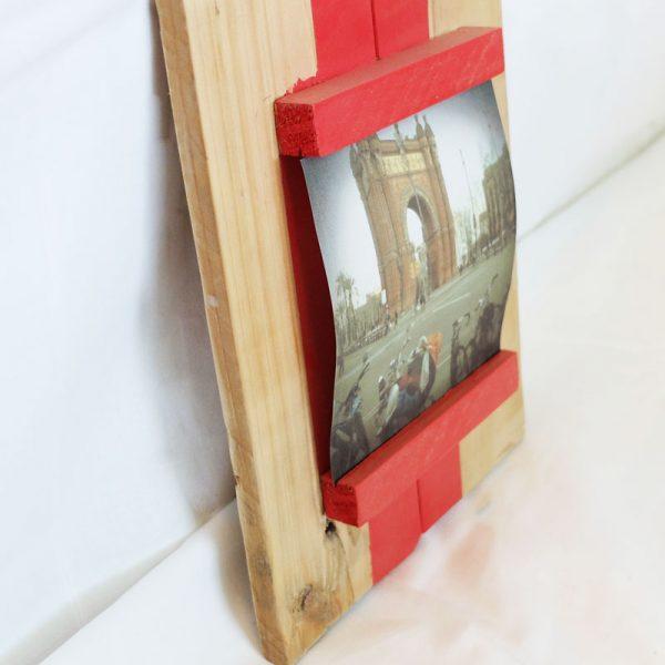 marco fotos madera palets