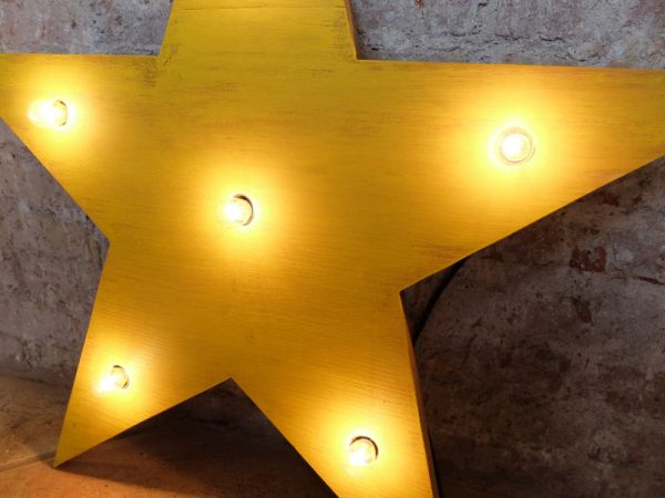 estrella luces