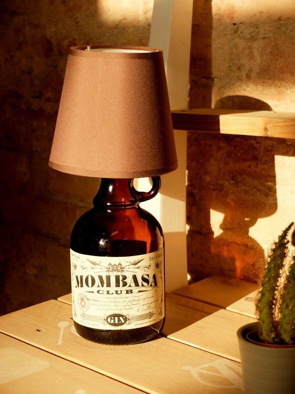 lámpara botijo