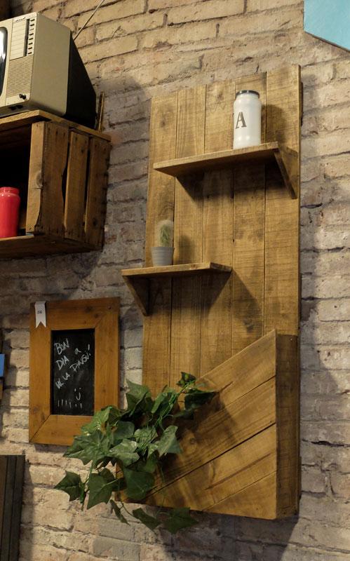 jardinera vertical madera