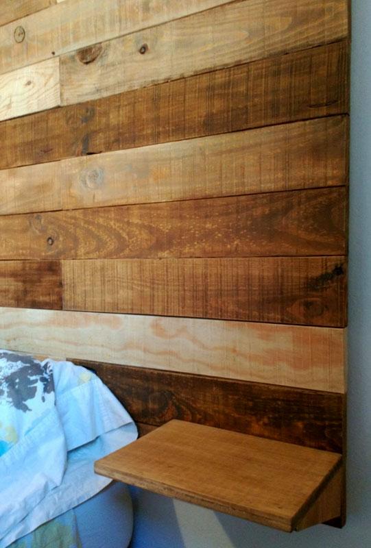 cabecero madera palets
