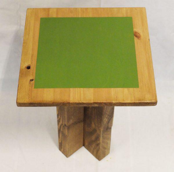 taburete artesanal