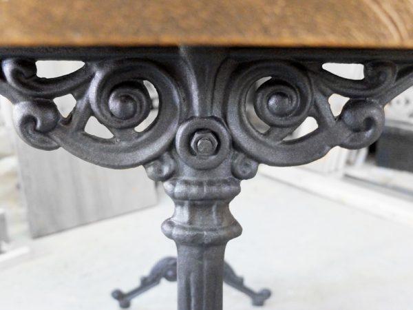 mesa hierro forjado