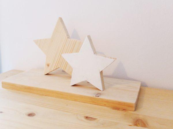 centro mesa madera