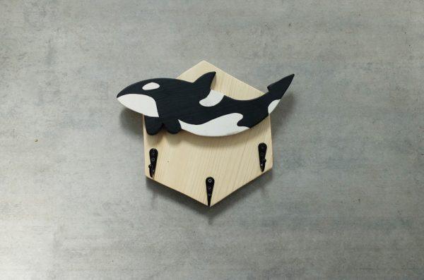 colgador madera orca