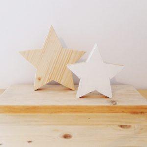 centro mesa navidad estrellas